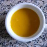 Crema de Zapallo y Zanahoria