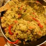 Salteando la Quinoa