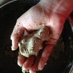 Textura de la masa de quinoa