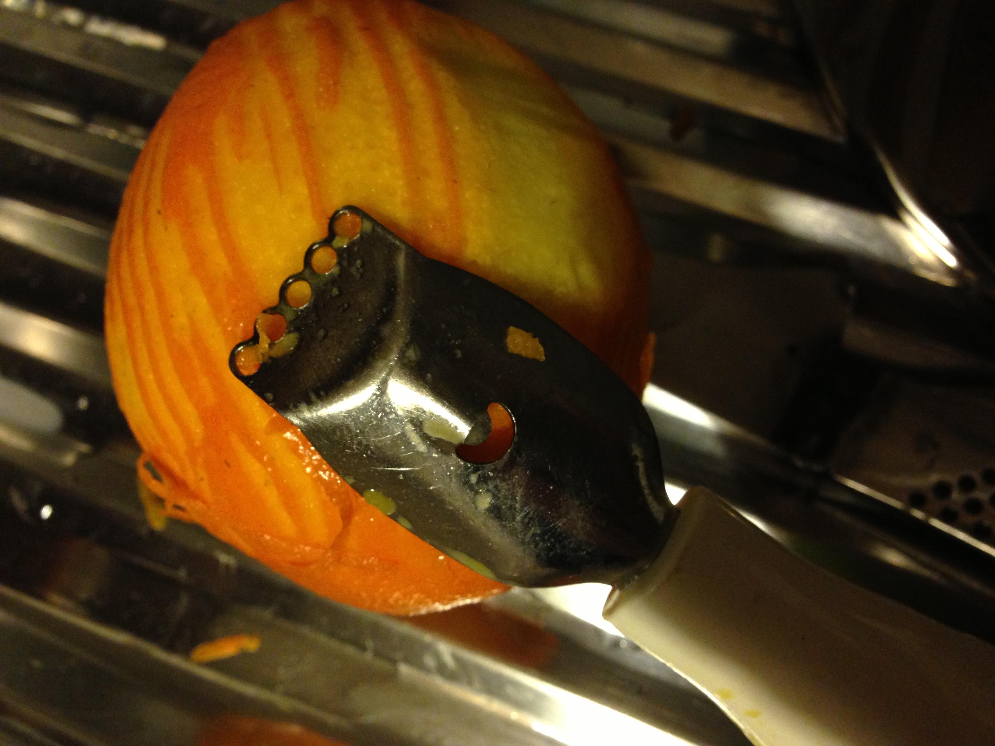 Ralladura de naranja