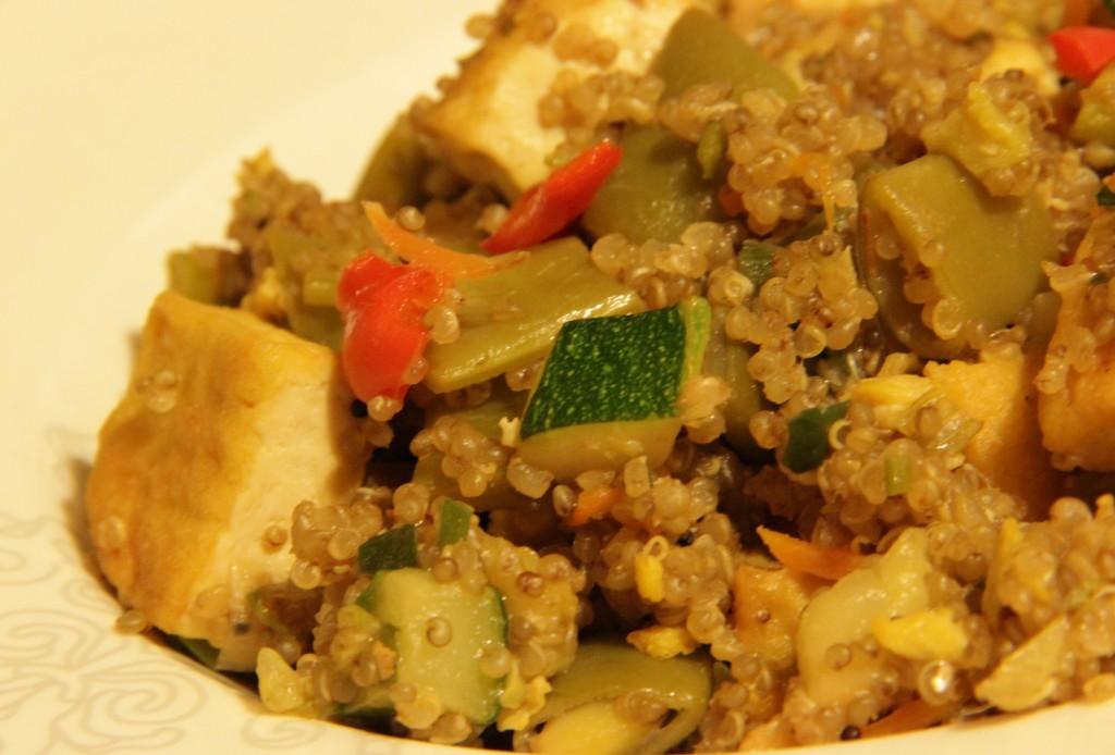 Chaufa de quinoa cari o a la cocina for Cocina quinoa con verduras